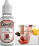 Capella Flavor Drops Concentrated & Quick Start Guide Bundle (Cola Type, 13ml)