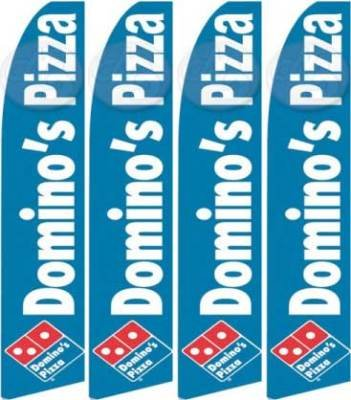 four-4-huge-dominos-pizza-feather-banner-flags
