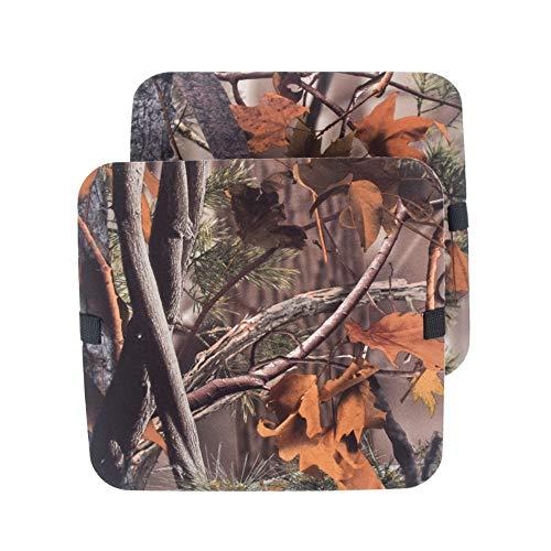 Kudden EVA Seat Cushion Camo Foam Mat Stadium Anti-Moisture Seat Pad with Adjustable Strap for Outdoor Picnic Fishing
