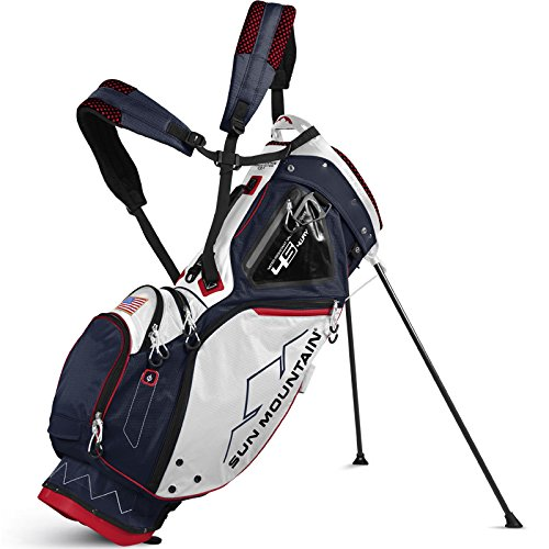 - Sun Mountain 4.5 LS 14-Way Stand Bag 2017 Navy/White/Red
