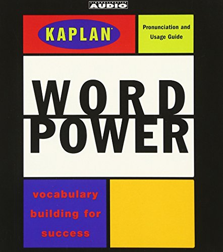 Kaplan Word Power: Vocabulary Building for Success (Kaplan Vocabulary Building)