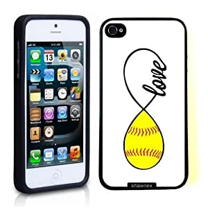 SudysAccessories Softball Love Softball Infinity Love Thinshell Case Protective For SamSung Note 2 Phone Case Cover