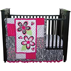 Trend Lab 3 Piece Crib Bedding Set, Zahara