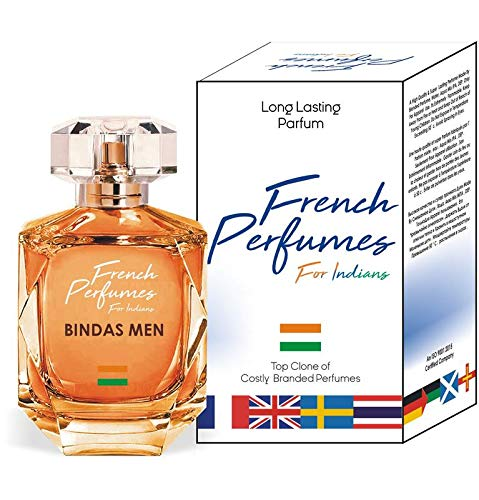 Parag Fragrances Bindas Men Perfume Spray For Men & Women ( Long Lasting / Imported Perfume / Best Unisex Perfume ) With Heavy Crystal Glass Bottle