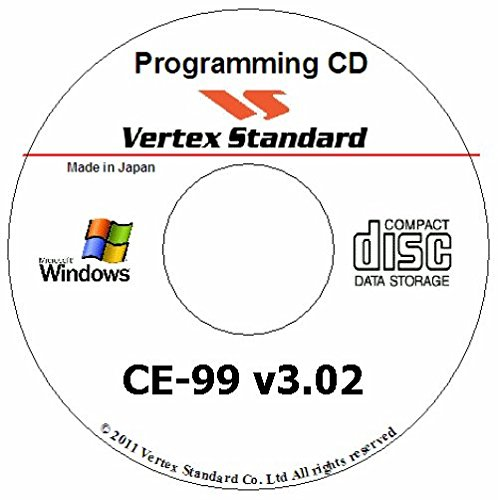 VERTEX STANDARD CE-99 PROGRAMMING SOFTWARE