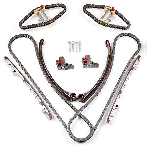 ECCPP ECCPP W0133-1895189-ESP Timing Chain Kits Fits Timing Chain engin 1999 2000 Jaguar XJ8 2000 2001 Jaguar S-Type 1998 1999 Jaguar Vanden Plas 1997 1998 Jaguar XK8