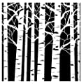 Crafters Workshop Crafter's Workshop Template, 12 by 12-Inch, Aspen Trees from CRAFTERS WORKSHOP