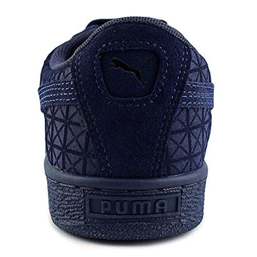 Puma Suede on Suede Jr Piel