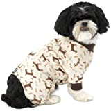 PetRageous Cuddle Up Pajamas for Pets, Medium
