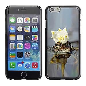 """Exotic-Star ( cvetok korona voda ) Fundas Cover Cubre Hard Case Cover para 4.7"""" iPhone 6"""