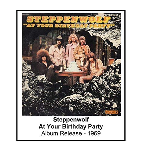 Steppenwolf 1969 At Your Birthday Party Album Cover 3