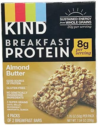 Kind Bar Breakfast Protein, Almond Butter, 7.04 OZ