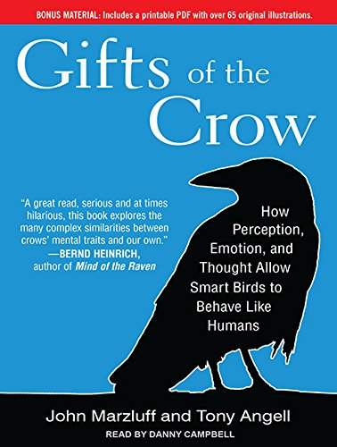 Gifts of the Crow: How Perception, Emotion, and Thought Allow Smart Birds to Behave Like Humans by Brand: Tantor Media