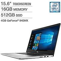 Dell Inspiron 15 7000 Series Touchscreen Laptop - Intel Core i7 - 4K Ultra HD - 4GB Graphics