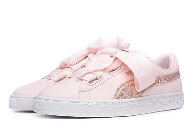innovative design 73a35 50f7e Puma Basket Heart Womens Trainers: Amazon.co.uk: Shoes & Bags