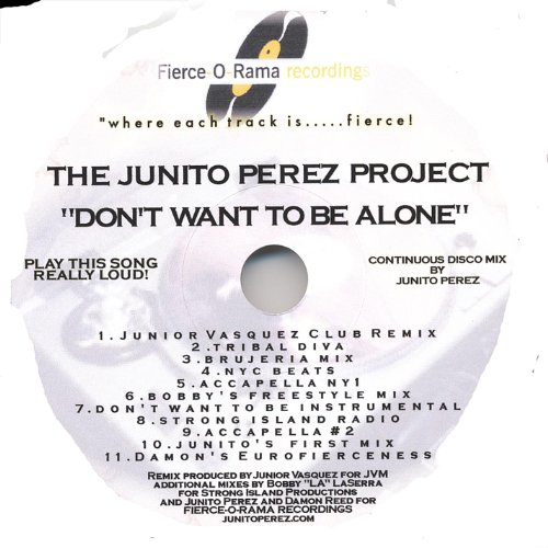 The Junito Perez Project Junito Perez - I.M.T. The Devil Made Me Buy This CD!