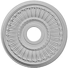 Ekena Millwork CM16ML 16-Inch OD x 3 5/8-Inch ID x 3/4-Inch Melonie Ceiling Medallion