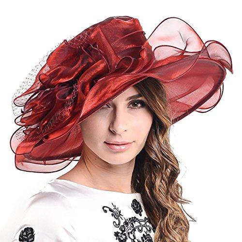 Lightweight Kentucky Derby Church Dress Wedding Hat #S052 -