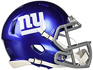 Riddell Revolution Speed Mini Helmet - New York Giants