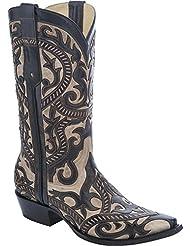 CORRAL Mens Overlay Cowboy Boot Snip Toe - G1278