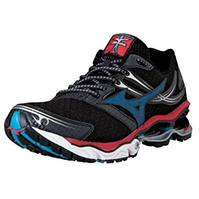 Mizuno Men's Wave Creation 14 Running Shoe,Black,7 D US