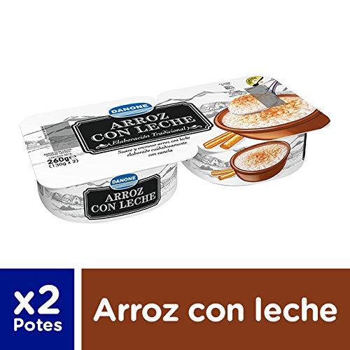 Danone De Postre - Arroz Con Leche, Pack 2 x 130 g: Amazon.es: Alimentación y bebidas