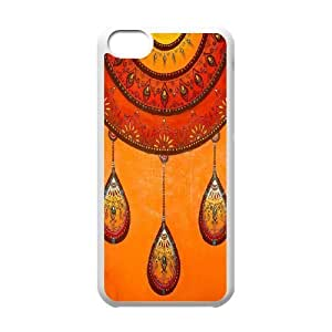 Teal Tribal Unique Fashion Printing Phone Case for Iphone 5C,personalized cover case ygtg614525