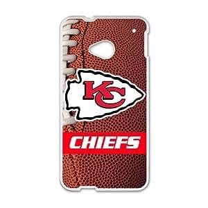 NFL Team KC/Kansas City Chiefs Chiefs Custom Case for HTC One M7