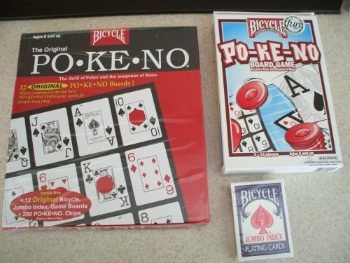 200 Card Set (Us Playing Cards Products - Ultimate Pokeno Set 12 Boards 200 Chips Cards Included - by US Playing Cards)