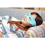 Ariel Edge Gel Eye Mask 2.0 with Eye Holes -Aqua