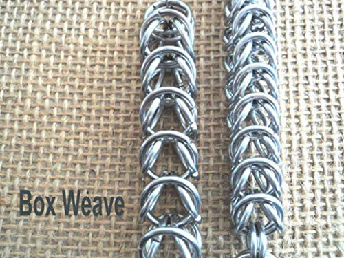 Chainmaille JPL Weave. Wallet Chain 22 Inch Slim 14 gauge