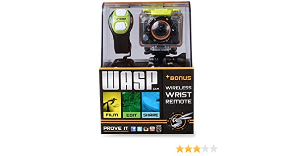 Waspcam 9900 Cámara HD Action Sports con WiFi y muñeca Remoto ...
