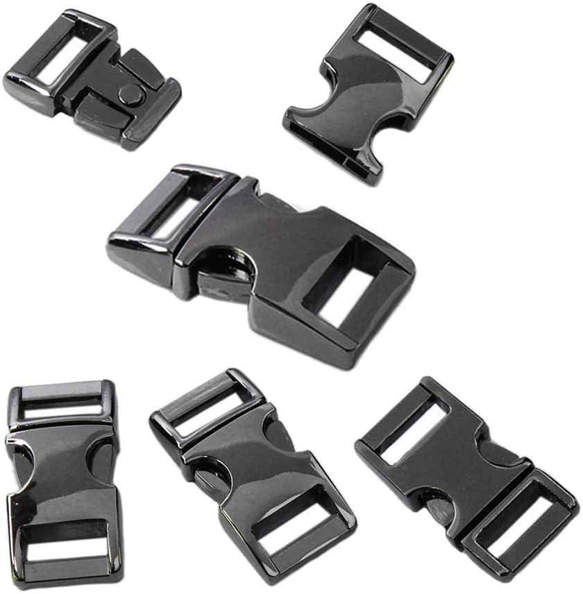 """Paracord cierre 3//8/"""" de plástico 10er set encajable klippverschluss"""