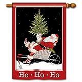 Ho Ho Ho Santa House Flag – 2 Sided Message Review