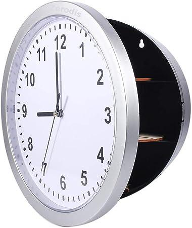Reloj de pared, Reloj de pared Caja fuerte oculta Caja fuerte ...