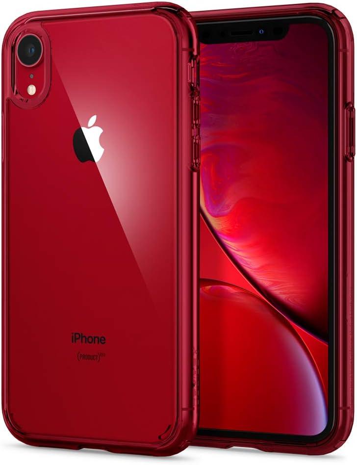 Spigen Ultra Hybrid Designed for Apple iPhone XR Case (2018) - Red