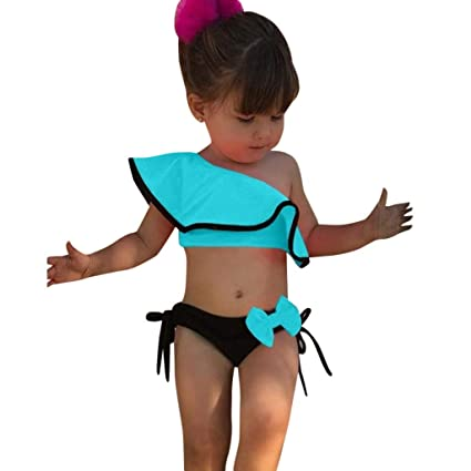 4aa77fd38c9 Amazon.com: Luonita Baby Girl Kids Infant Toddler Swimwear Set ...