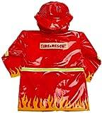 Kidorable Little Boys' Fireman Raincoat, Red, 6-6X