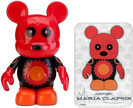Red Gears Bear Urban Series 5 Disney Vinylmation Vinyl Action Figure 3/'/'