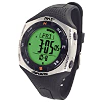 Pyle Sports PSWRM70 Regatta Timer Watch with Digital Compass, 100 Lap Chronograph Memory, Countdown Timer by Pyle Sports