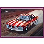 AMT 1:25 Scale 1969 Chevy Chezooooom Corvair Funny Car Model Kit by AMT