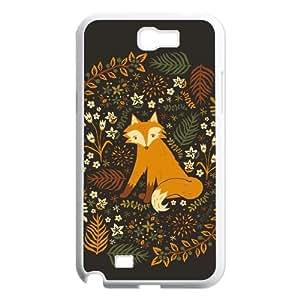 Fox CUSTOM Cover Case for Samsung Galaxy Note 2 N7100 LMc-27565 at LaiMc