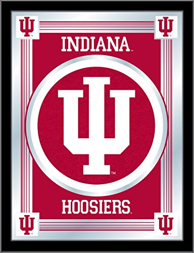 - Holland Bar Stool Company NCAA Indiana Hoosiers Logo Mirror, 17 X 22-Inch