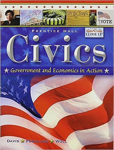 amazon com civics government and economics in action student
