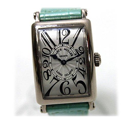 [ロングアイランド]Longisland FRANCK MULLER フランクミュラー ロングアイランド K18WG無垢 レディース腕時計 クロコベルト クオーツ 902QZ KK [中古] B01D2NIK1M