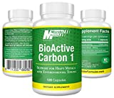 Dietary Supplement- Microbe Formulas: BioActive Carbon 1 - 120 Capsules - High Quality Ingredients, Support Against Heavy Metals & Environmental Toxins, Helps Heal Your GI System