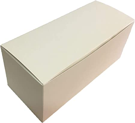 Florentina - 10 cajas/estuches de cartón, plegables, ideal para suvenir , 10 x 10 x 10 cm, color marfil: Amazon.es: Hogar
