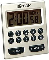 CDN TM30 Direct Entry 2-Alarm Timer-Alarm Sounds or Vibrates