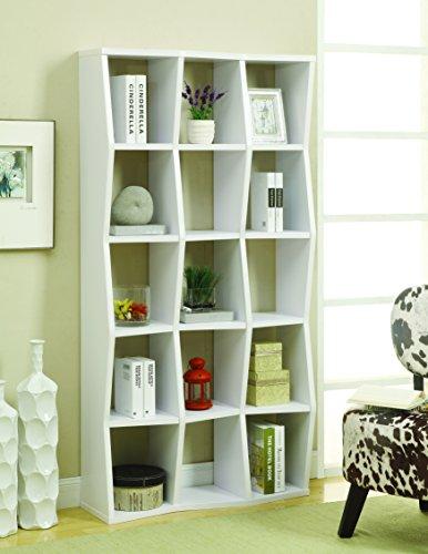 Coaster Furniture Casual Bookcase, Caramel