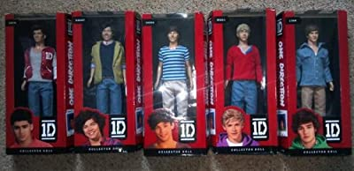 "1d One Direction 12"" Doll Figure Set Of 5 (niall, Liam, Louis, Zayn, Harry)"